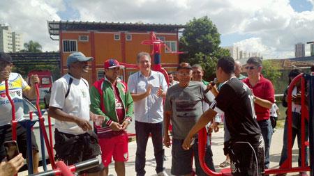 Emenda de Donato viabiliza academia em CDC no Jardim Umarizal
