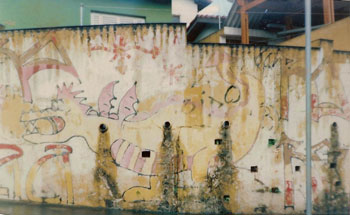 Os primeiros traços, há 26 anos, no Jd Martinica, no Campo Limpo