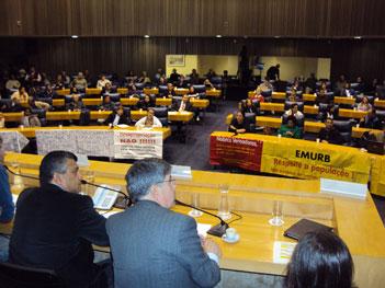 PL 25/2011 da Op Urb Água Espraiada passa por 2ª audiência