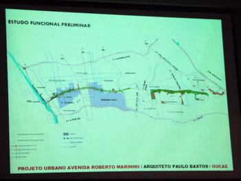 Arquiteto explica mudanças na Operação Urbana Agua Espraiada