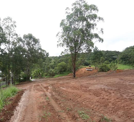Terreno onde será construído o hospital