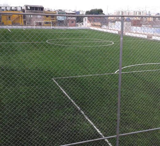 Reformados praça e campo de futebol do CDC São Januário