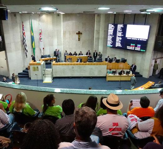 Câmara entrega a São Paulo uma nova lei de zoneamento