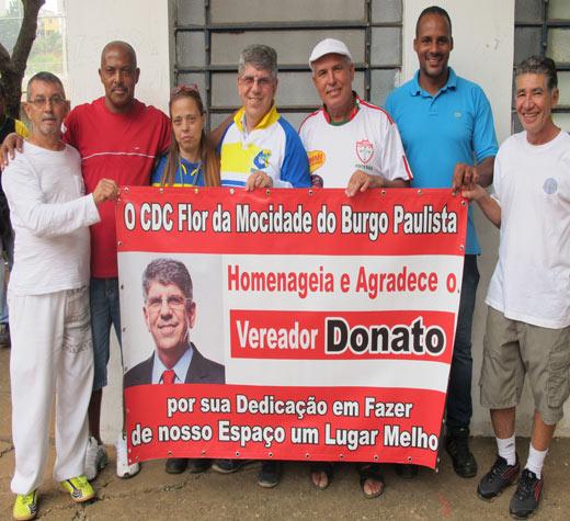 Donato recebe homenagem de lideranças da Zona Leste de SP
