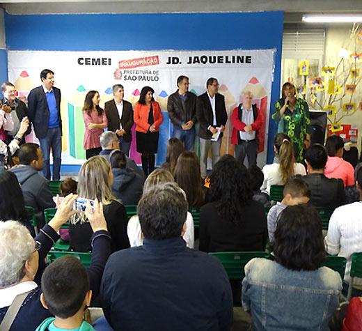 Jd. Jaqueline ganha creche com capacidade para 700 crianças
