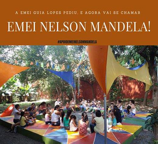 Alvo de ataque racista escola muda nome para Nelson Mandela