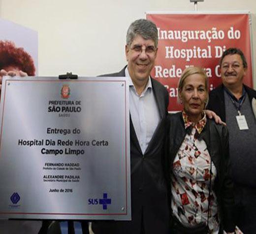 C. Limpo recebe unidade do Hospital Dia Rede Hora Certa