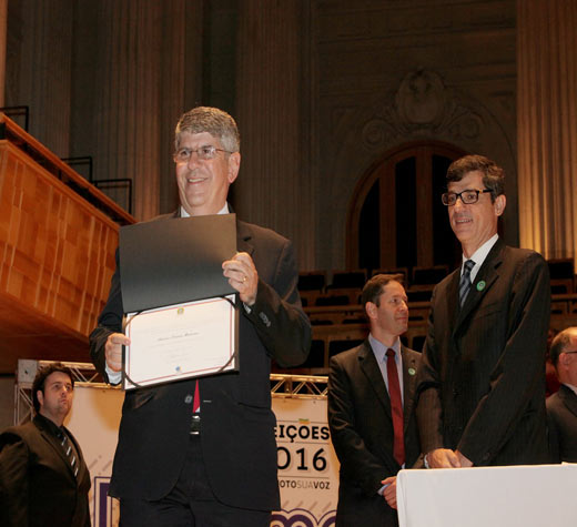 TRE diploma Donato para novo mandato de vereador