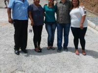 Em visita ao Morro Doce vereador confere obras de melhoria no bairro