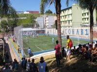 Campo da Cohab Adventista ganha gramado sintético
