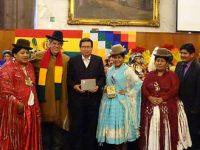 Fraternidades bolivianas são homenageadas por Donato