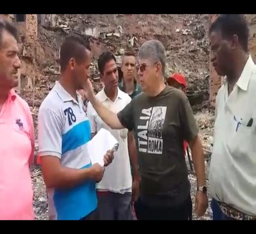 Paraisópolis: vereador presta apoio às vítimas de incêndio