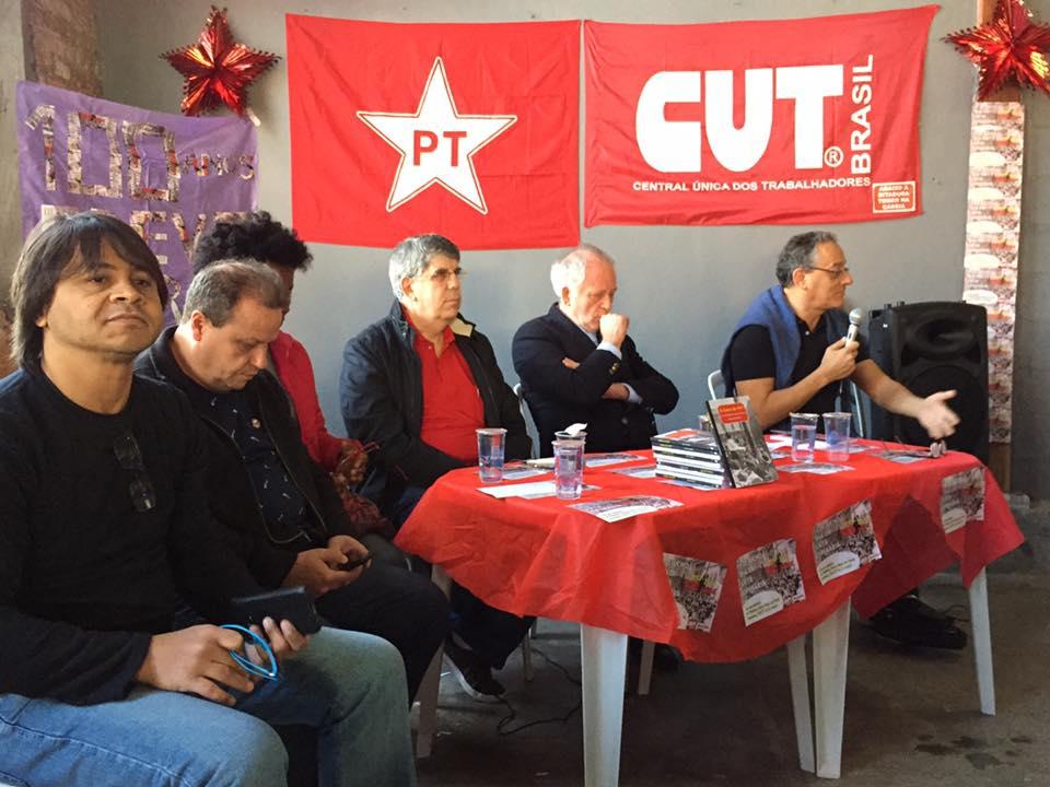 Donato e CUT-SP celebram Dia da Luta Operária, no Brás