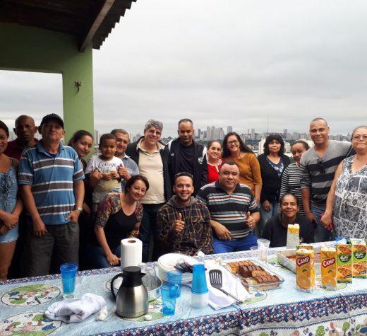 Em visita ao Jaguaré Donato ouve demandas da comunidade