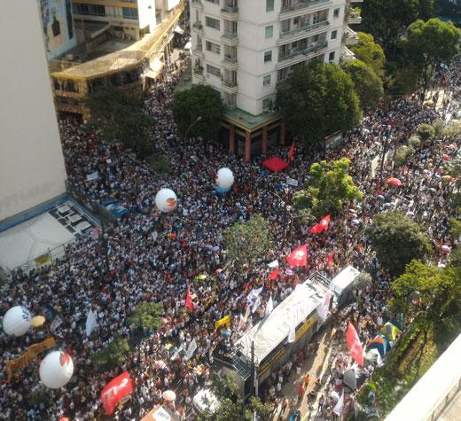 Mobilização derrota reforma da previdência de Doria