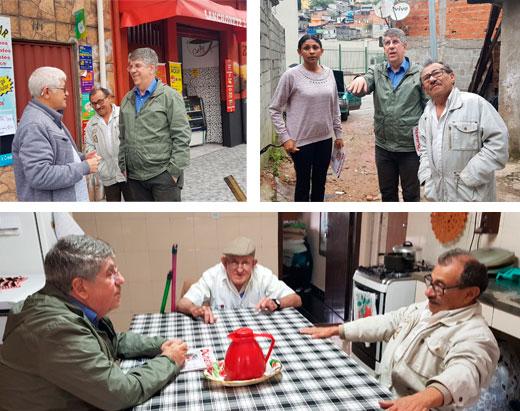 Vereador faz visita M'Boi Mirim e Brasilândia