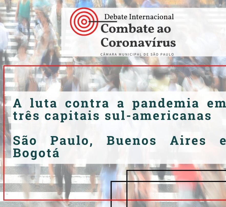 Vereador Donato participa de seminário sobre combate ao novo coronavírus