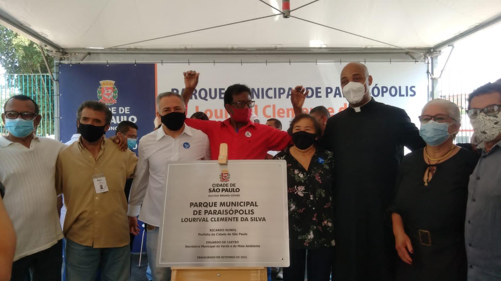 Parque Paraisópolis, fruto da luta da comunidade, é aberto ao público